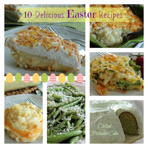 delicious easter recipes 10 delicious easter recipes cozy country living