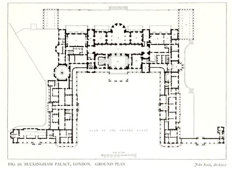 buckingham palace floor plan archi maps