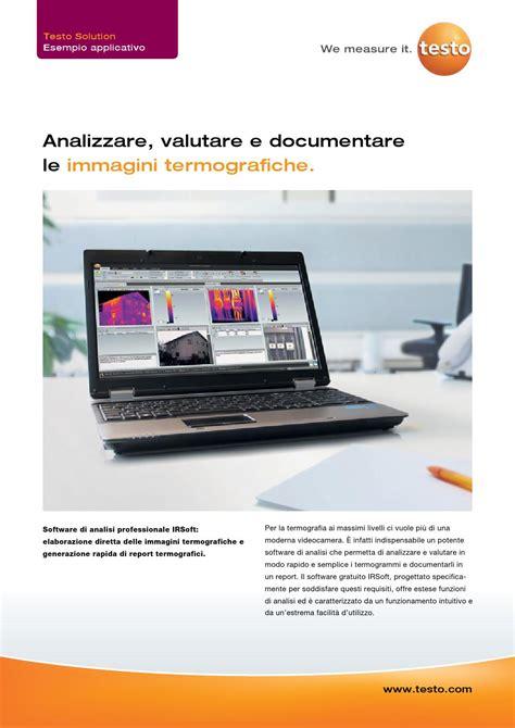 testo spa irsoft software di analisi termografica by testo spa issuu