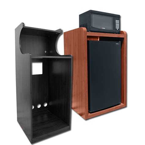 Refrigerator Microwave Cabinet Bestmicrowave Cabinet For Small Refrigerator