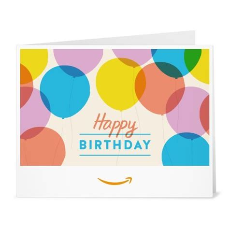 Amazon Birthday Gift Card - gift cards kamisco