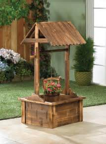 wholesale rustic wishing well outdoor fir wood