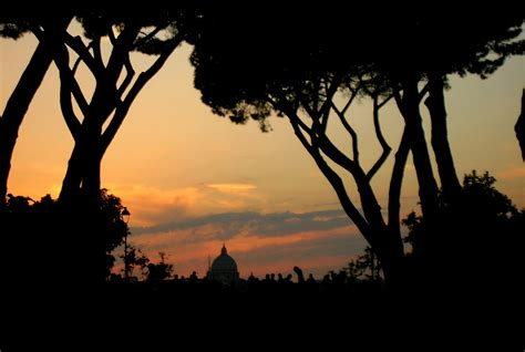 giardino dei aranci tramonto dal giardino degli aranci roma foto immagini