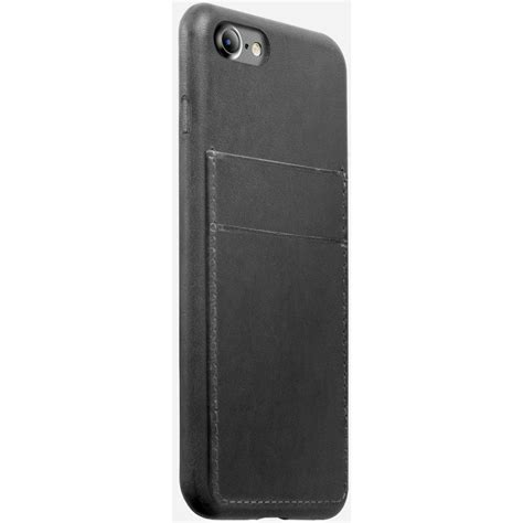 Nomad Wallet Card For Iphone X nomad wallet for iphone 7 8 slate gray nm21720w00 b h