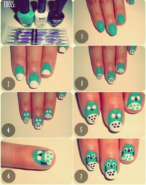 nail art design tutorial painting nail tutorial latest nail art tutorial