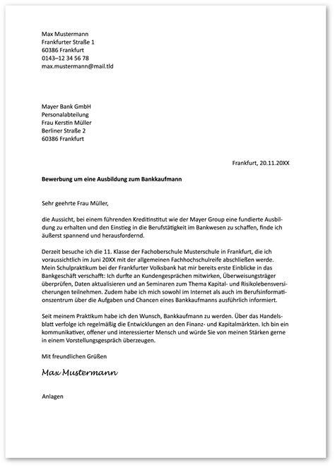 Anschreiben Bewerbung by Das Perfekte Anschreiben F 252 R Die Bewerbung Zur Ausbildung
