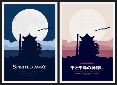 Studio Ghibli Movies by Movie Posters I Made For Spirited Away Movies
