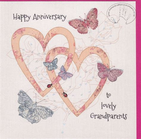 how to make a anniversary card handmade grandparents wedding anniversary card karenza