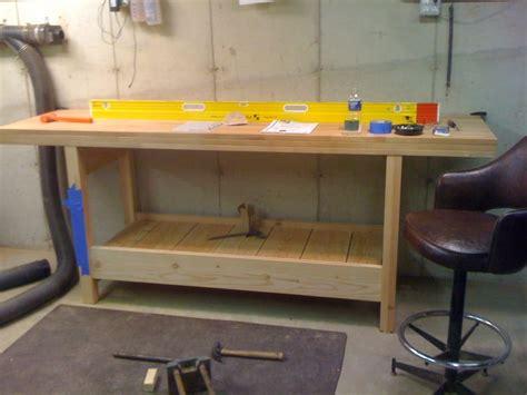 ikea tool bench workbench build with ikea tops general woodworking talk wood talk online