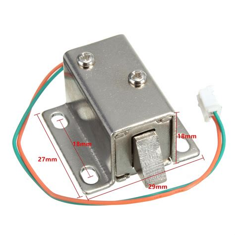 lock cabinet assembly 12v dc cabinet door drawer electric lock assembly solenoid