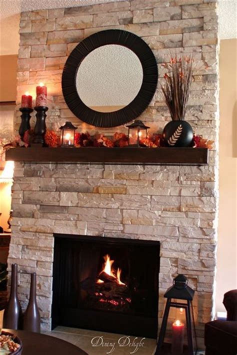Gas Fireplace Makeover by Best 25 Fall Fireplace Mantel Ideas On