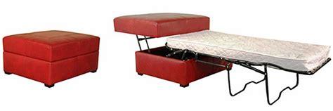 leather ottoman with sleeper sofa club furniture