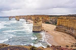 Location off the shore of port campbell national park by the great
