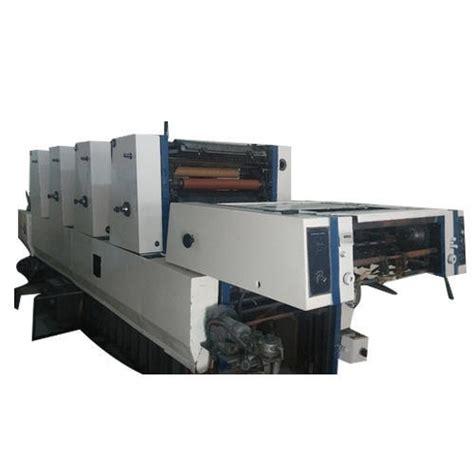 Paper Folding Machine Manufacturers In India - bvm offset new delhi manufacturer of printing machine
