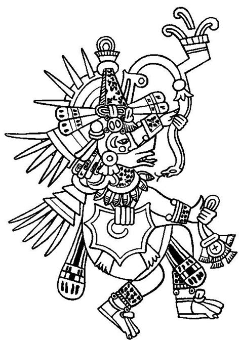 Aztecs Coloring Pages Coloring Home Aztec Coloring Pages
