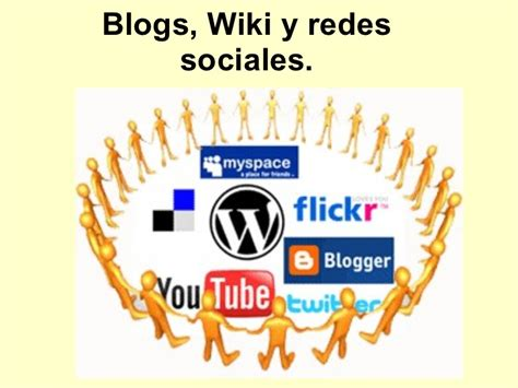 blogger wikipedia blogs wiki y redes sociales