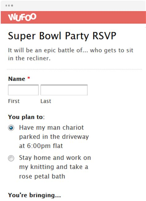rsvp template for event form template wufoo