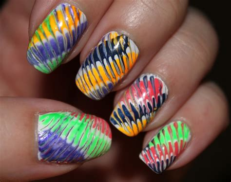 easy nail art with toothpick toothpick nail art nails abstract designs pinterest