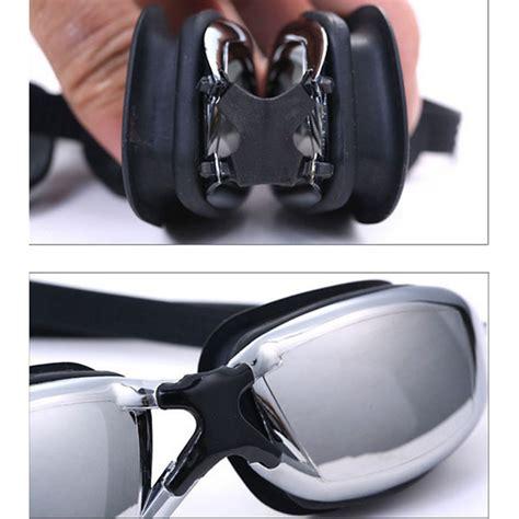 Kacamata Renang Minus Anti Fog Uv Protection G7800m 3 0 Hitam kacamata renang minus 4 0 anti fog uv protection g7800m