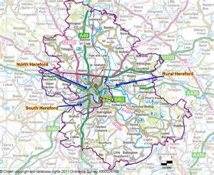 hereford map map2 herefordcity hereford city council