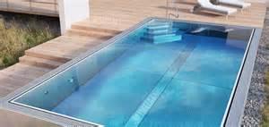 edelstahl schwimmbad luxus edelstahl pool kaufen optirelax