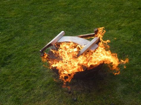 Feuer In Feuerschale Erlaubt by Feuerschale Im Garten Ist Die Feuerstelle Erlaubt
