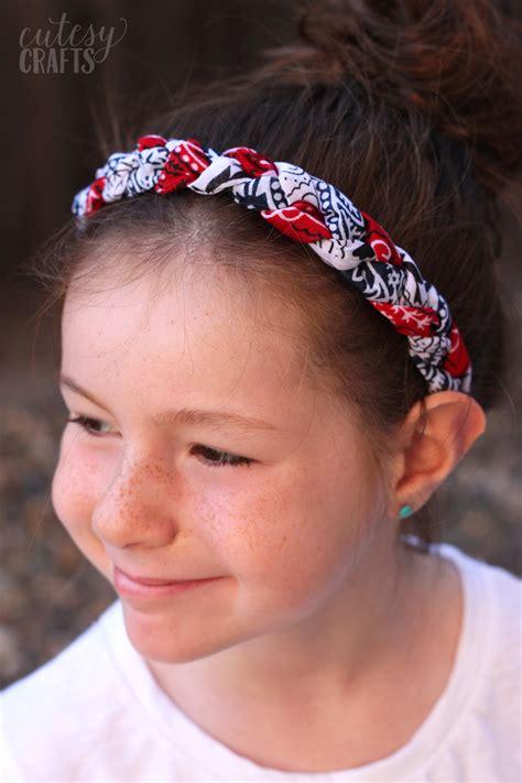 Bandana Headband white and blue bandana headbands diy