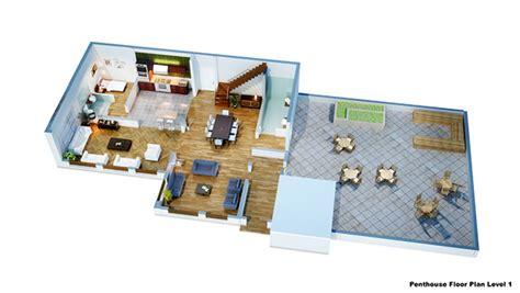 isometric floor plan isometric floor plan render in 3d on behance