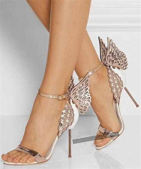 size 4 high heels new design size 4 9 butterfly high heels shoes 2015