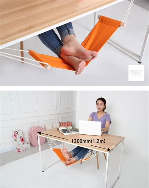 work in your office like a with this foot hammock