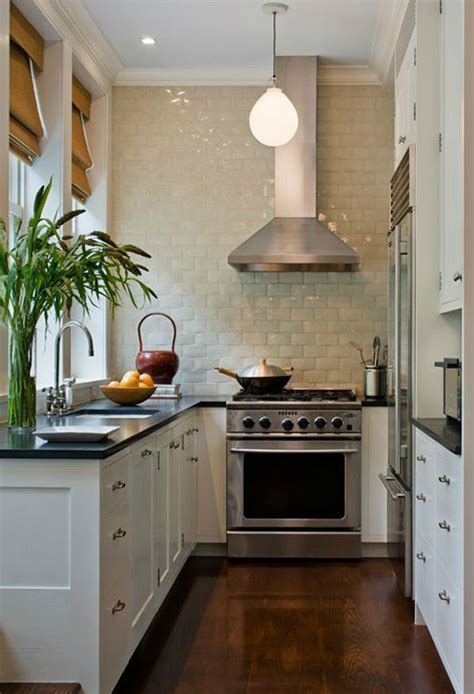 Narrow Galley Kitchen Designs 47 Best Galley Kitchen Designs Decoholic