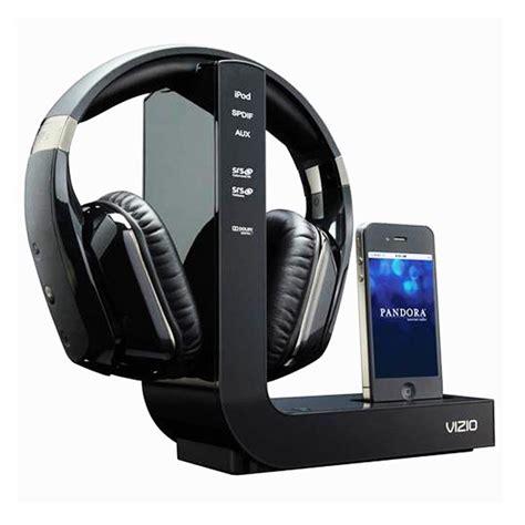 vizio wireless headphones and iphone dock