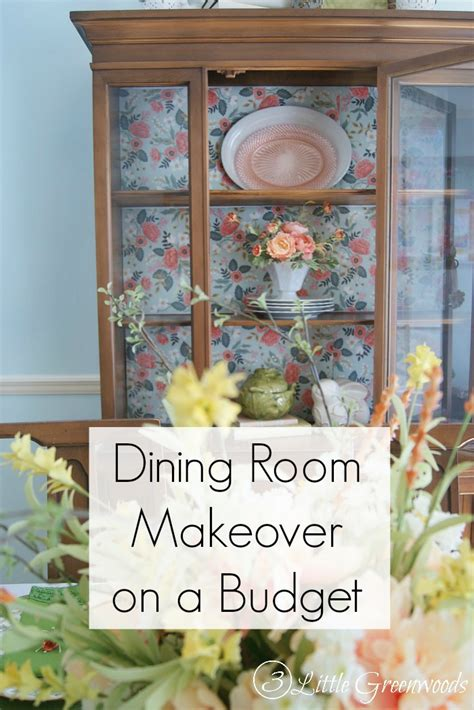 Dining Room Makeover On A Budget Dining Room Makeover Ideas On A Budget 3 Greenwoods