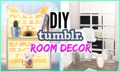 how to make room decorations diy tumblr room decor cheap simple youtube
