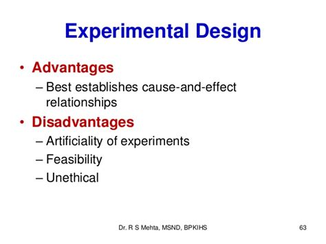 experimental design effect size 3 types of research study