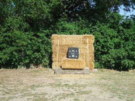 haybales  archery targets