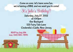potluck picnic invitations