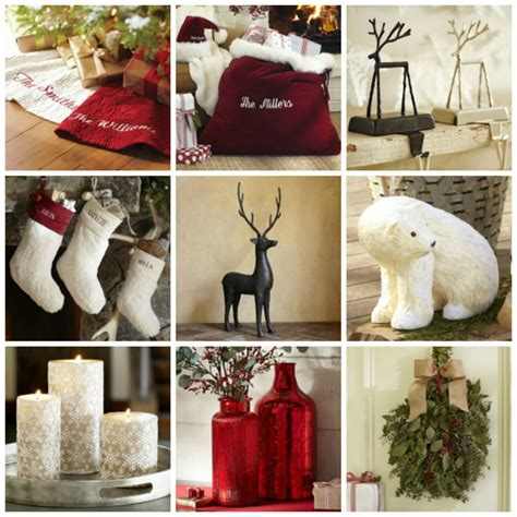 Pottery Barn Home Decor by Weekend Home Decor Shopper Decorating For Christmas