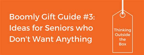 gifts for aging parents creative gift ideas for seniors grandparents and elderly