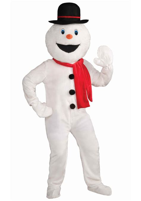 festive snowman mascot costume frosty the snowman costume