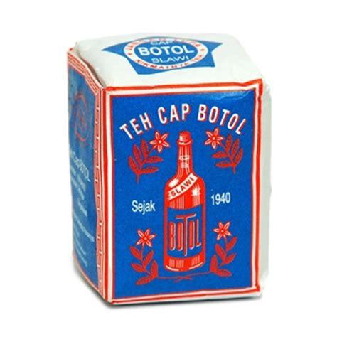 Teh Kepala Jenggot teh botol 40gr biru