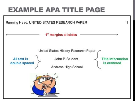 Apa Format Style Power Point Apa Powerpoint Template