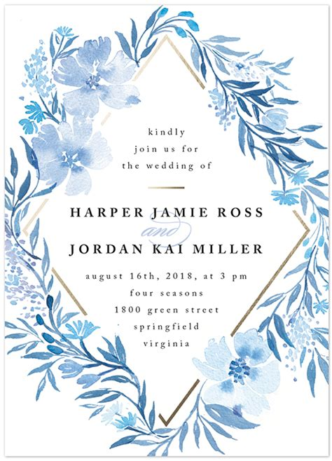 A6 Wedding Invite Template by 2017 Pantone Color Of The Year And Your Minted Wedding