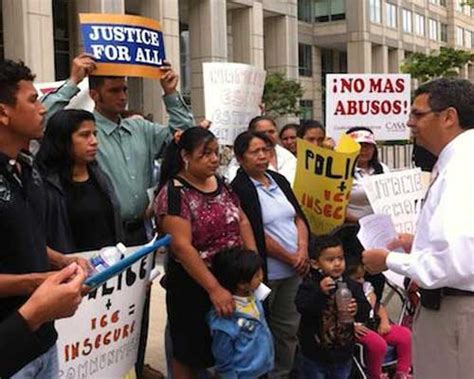 casa de maryland protests dhs immigration and deportation