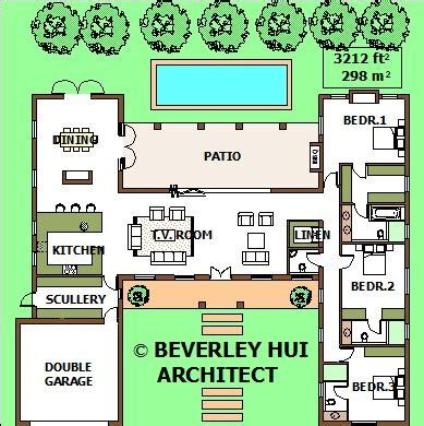 u shaped house plans with pool in middle u shaped house plans with pool in middle archives kitchen