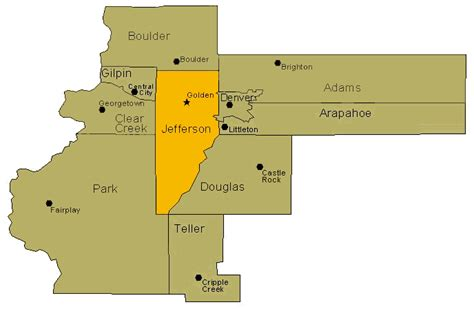 Jefferson County Colorado Property Records Douglas County Colorado Seotoolnet