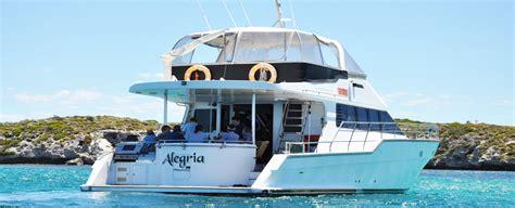 fishing boat hire busselton alegria boat charters perth swan river rottnest