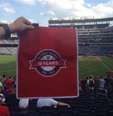 Washington Nationals Giveaways - may 19 2015 washington nationals vs new york yankees tote bag