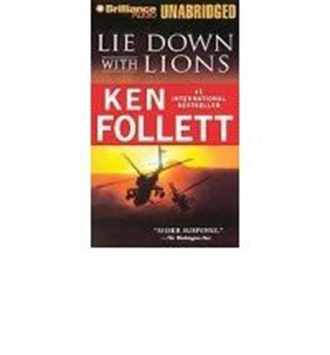 libro lie down with lions follett ken lie down with lions