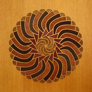 Aldebaran Wood Marquetry Kit Art